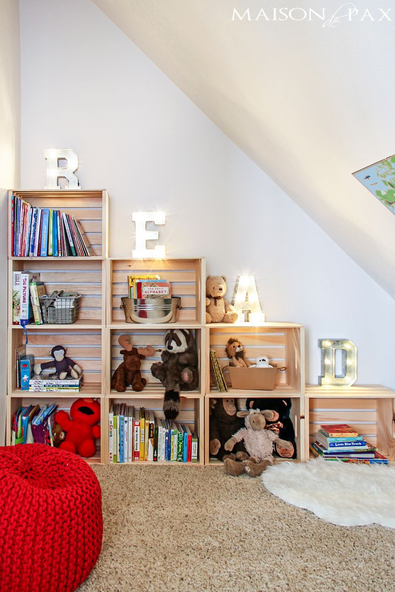 Bedroom Organization Ideas: For Your Child's Bedroom
