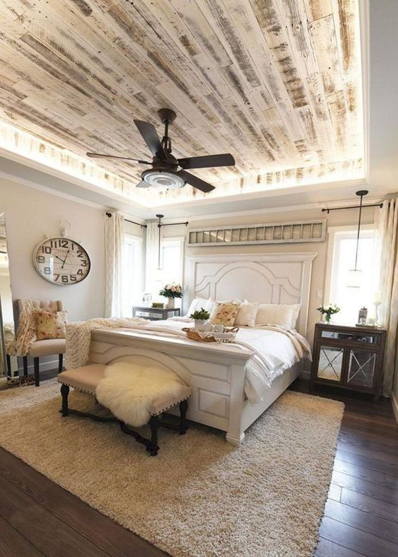 classic farmhouse bedroom ideas 2