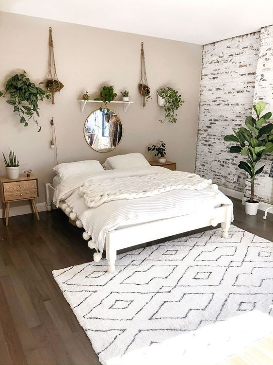 Boho Bedroom Ideas: Do Not Forget the End of the Bed