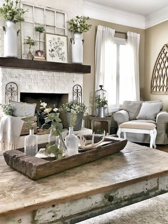 Classic Farmhouse Living Room Ideas