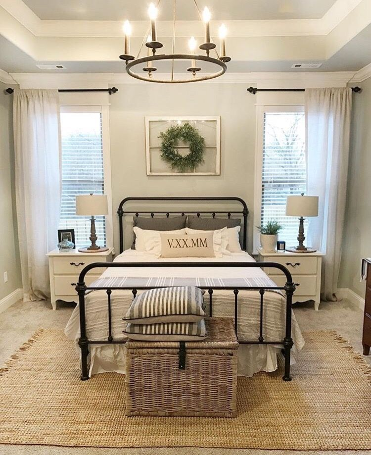 25+ Beautifully Cozy Farmhouse Bedroom Decor Ideas That You'll Love