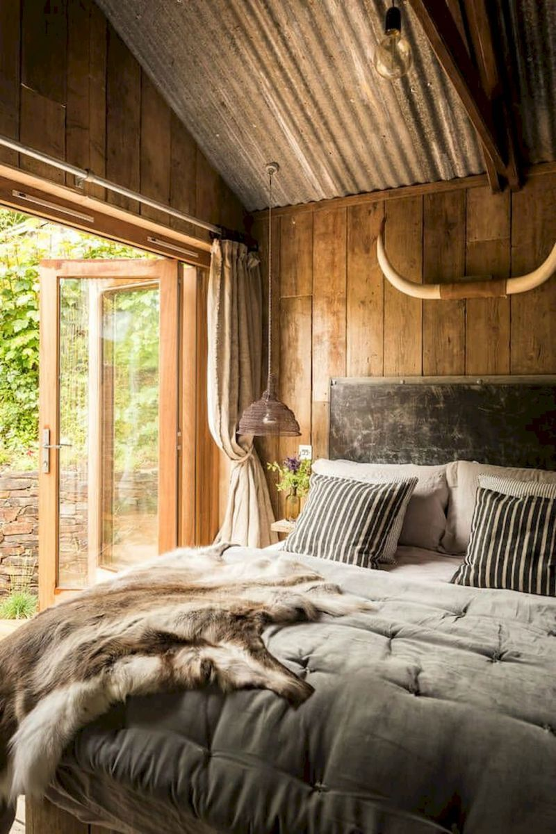 Rustic Bedroom Ideas: Rustic Lighting Plan