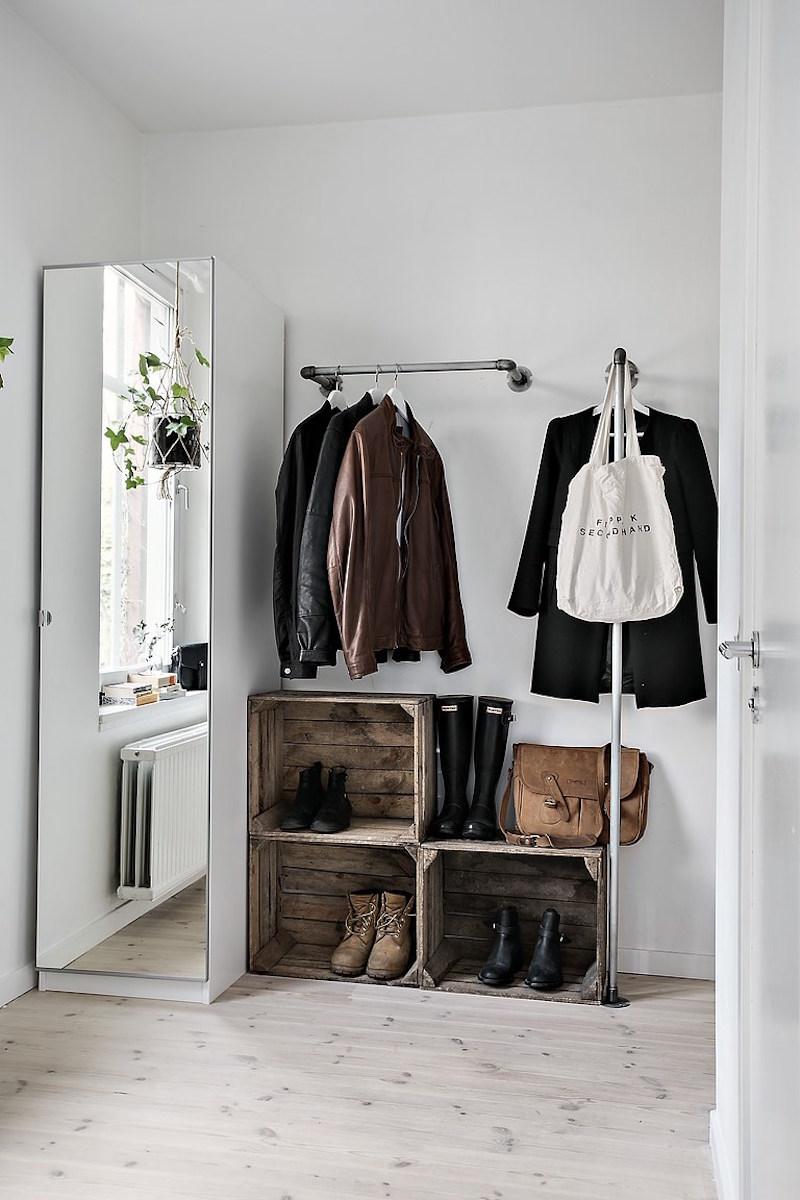 Bedroom Organization Ideas: Shoe Storage