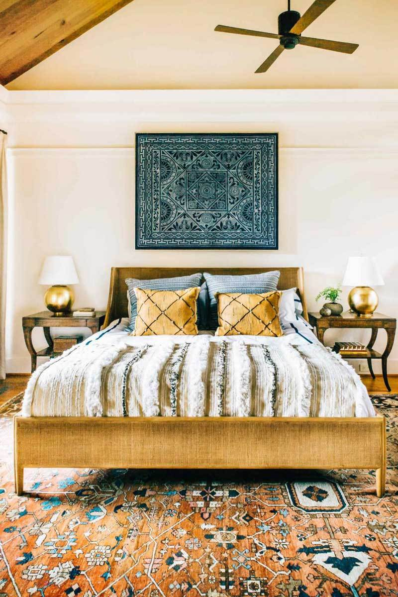 Bohemian Bedroom Ideas: Beaded Curtains