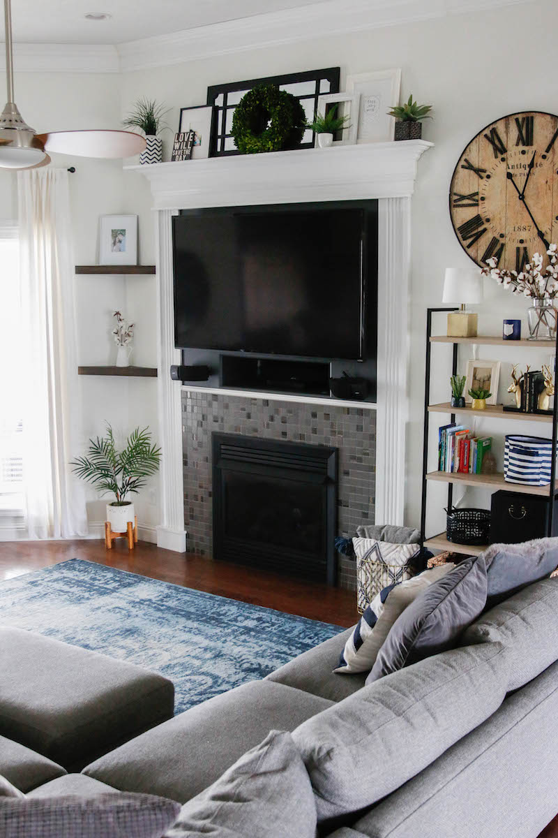 Living Room with TV Ideas: Framing With Surrounds