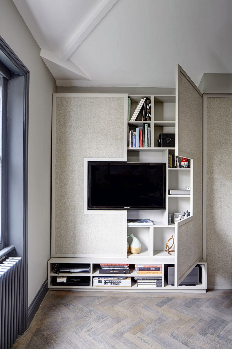 Living Room with TV Ideas: Surround With Storage