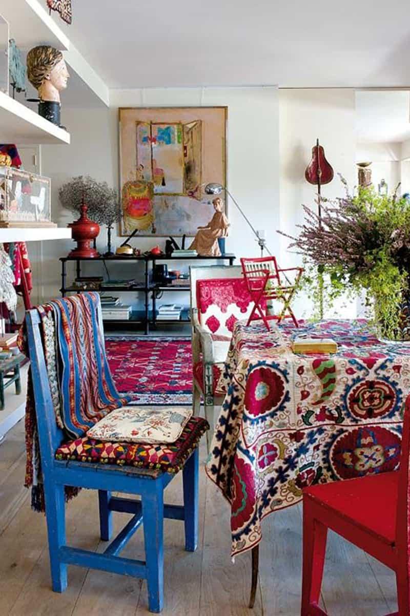 Boho Bedroom Ideas: Choose Quite Tone