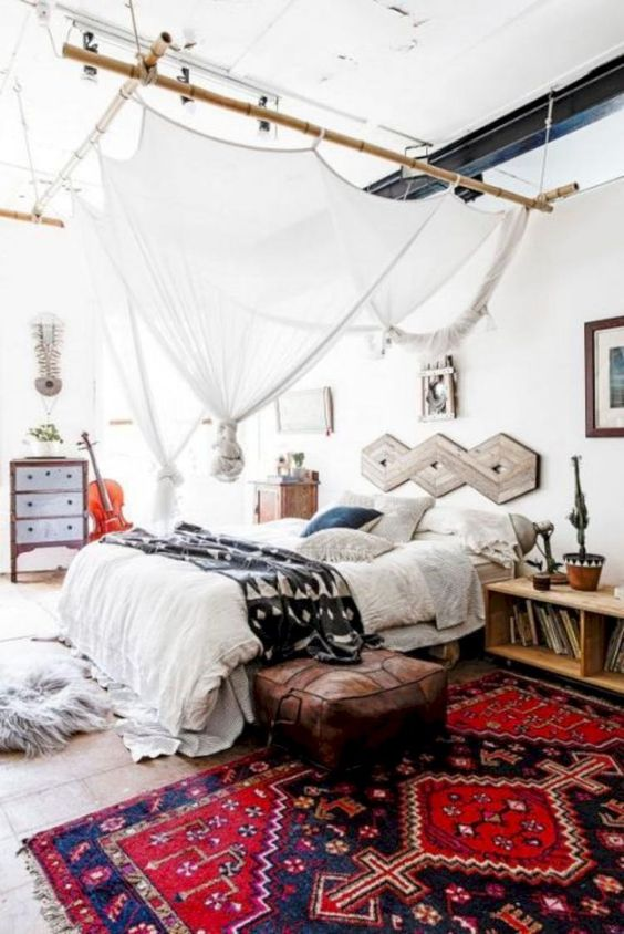 Bohemian Bedroom Ideas to Create Attractive Room Atmosphere 4