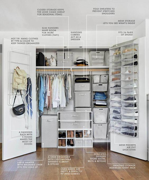 Bedroom Organization Ideas 2