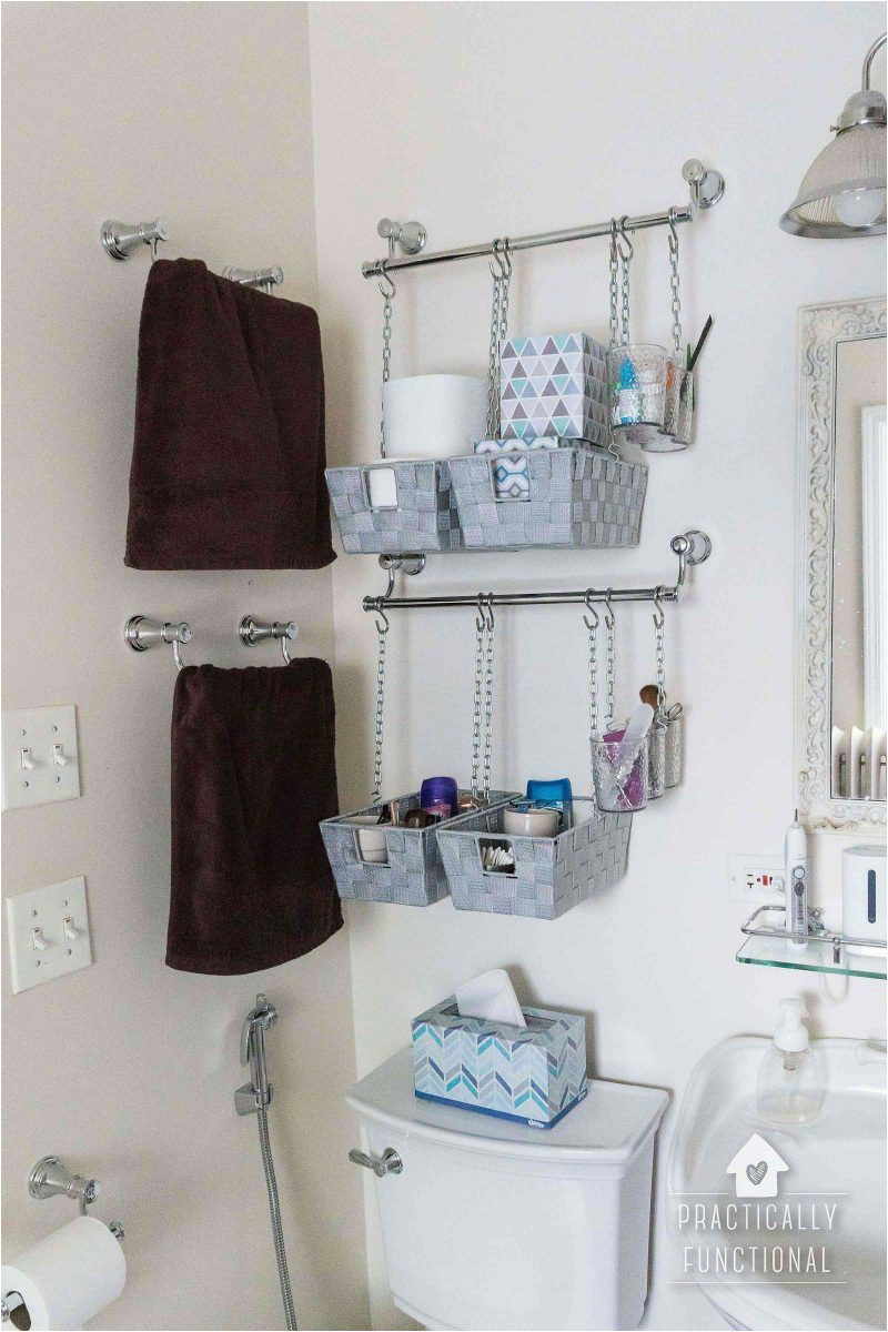 Bedroom Organization Ideas: Pull the Wire Basket