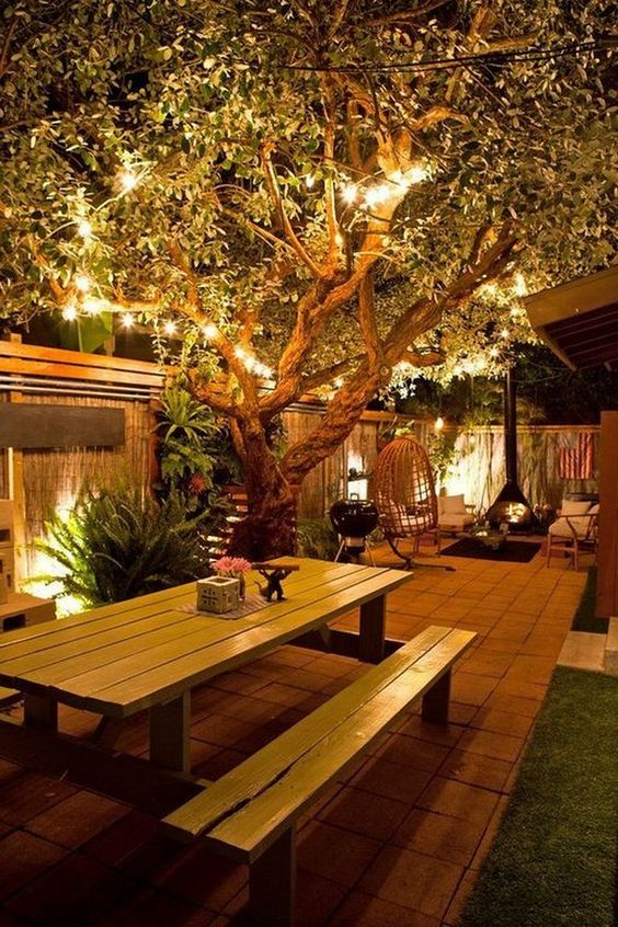 Backyard Lighting Ideas: Light The Tree