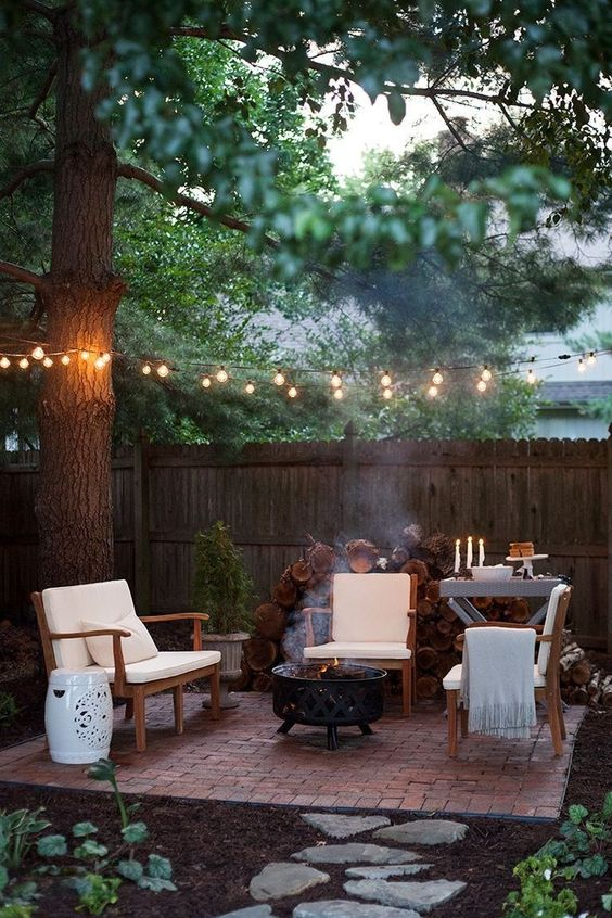 Backyard Lighting Ideas: Captivating Look