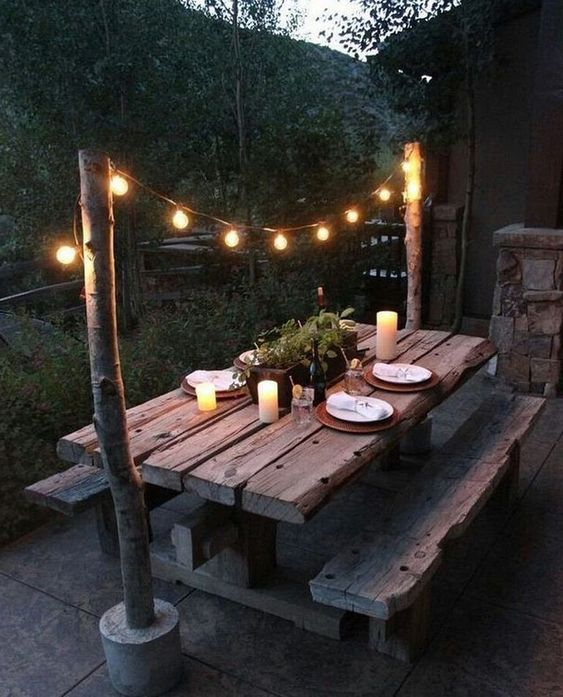 backyard lighting ideas 14