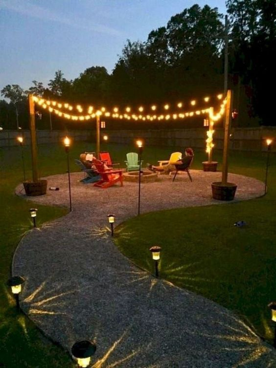 backyard lighting ideas 18