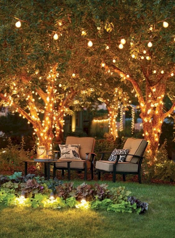 backyard lighting ideas 20