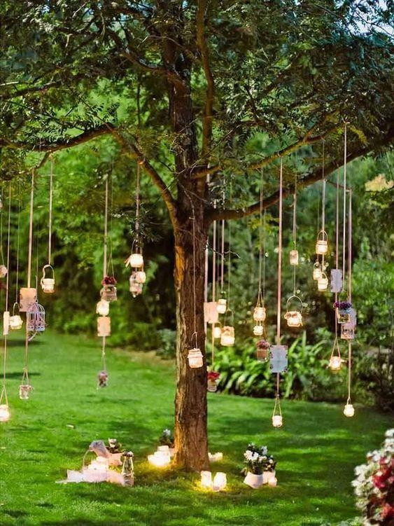 backyard lighting ideas 22