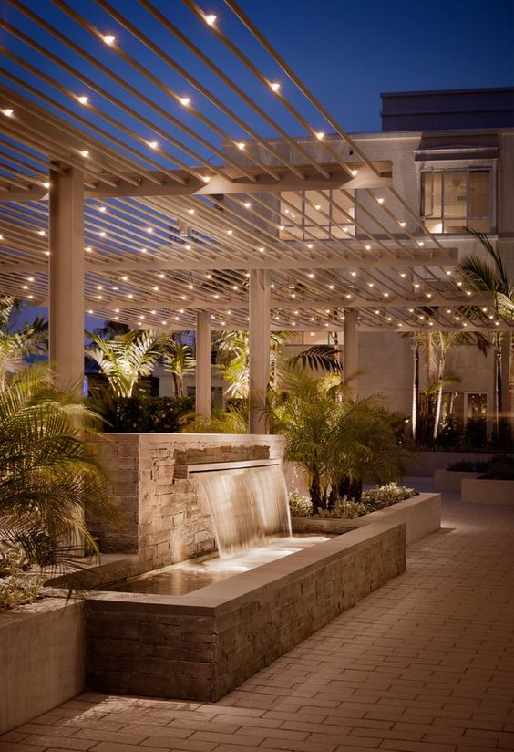 backyard lighting ideas 25