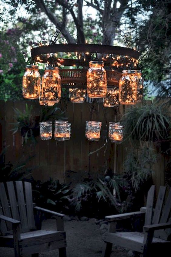 Backyard Lighting Ideas: Tumblr Style