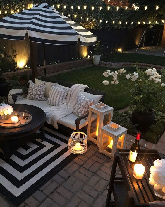 Backyard Lighting Ideas: Soft Lighting