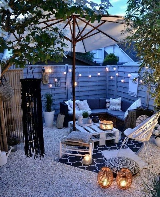 Backyard Lighting Ideas: Simpler Is Better