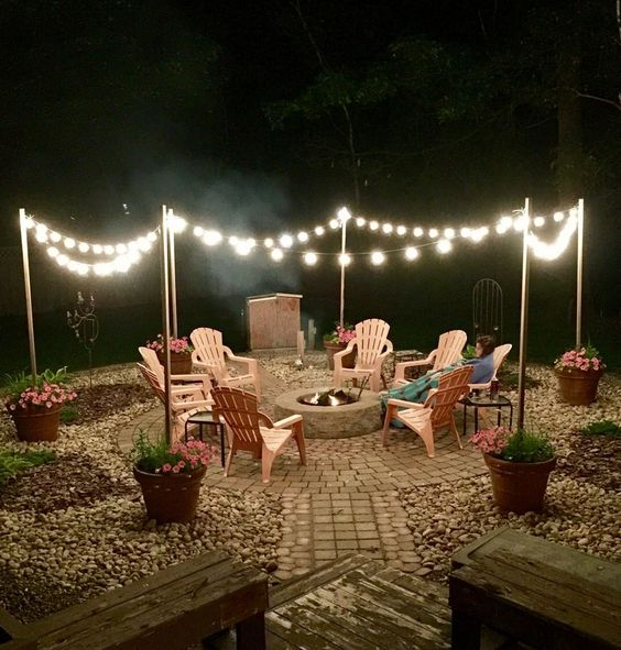 backyard lighting ideas feature