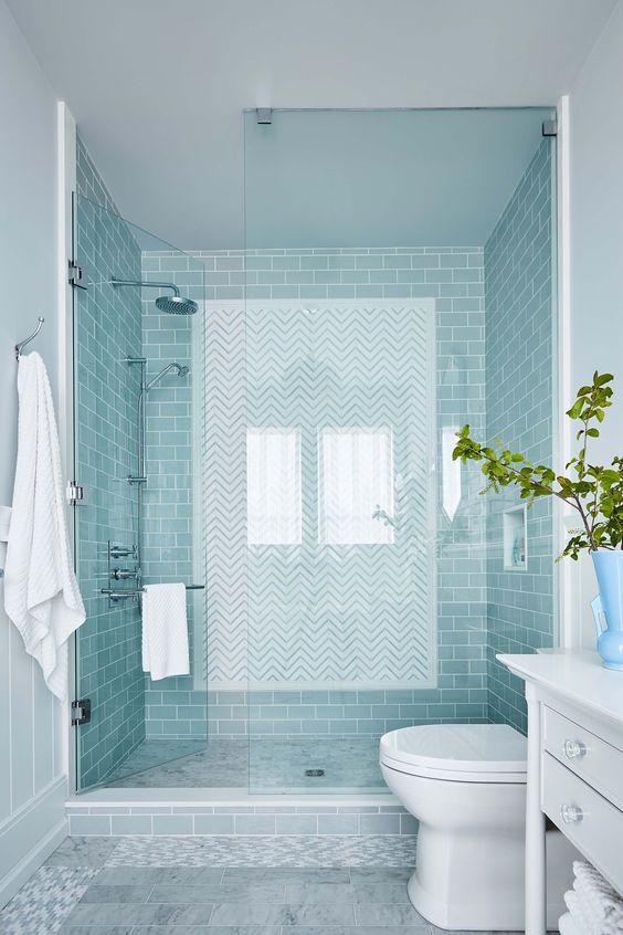 Bathroom Colors Ideas: Soft Powder Blue