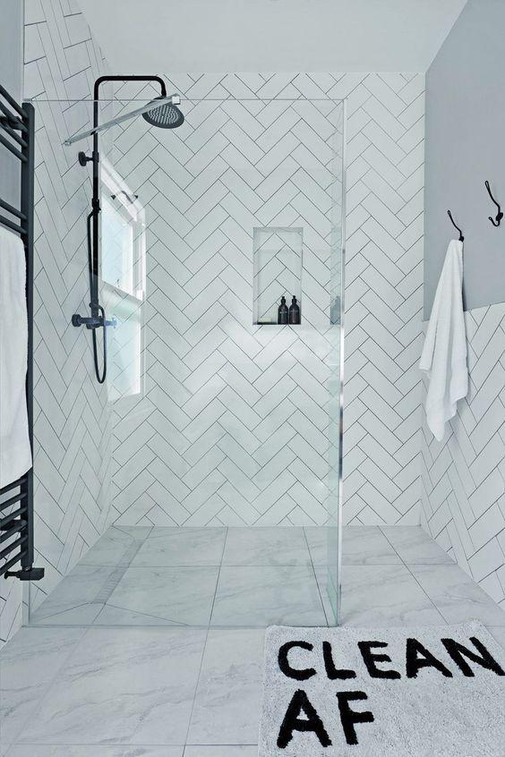 Bathroom Colors Ideas: Simple Monochromatic