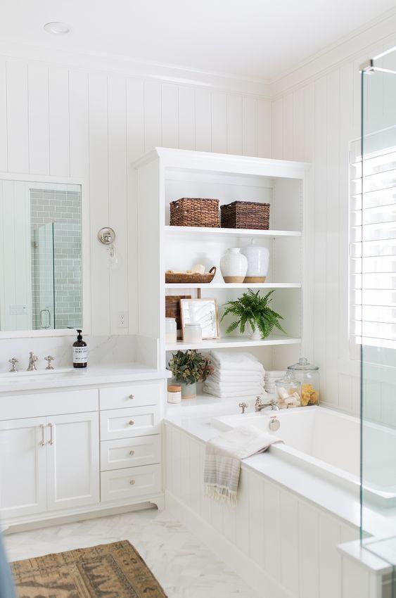 bathroom shelf ideas 24