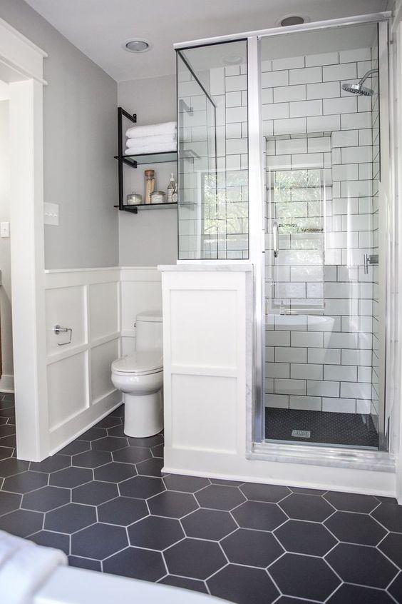 Bathroom Shelf Ideas: Tiny and Useful Shelf