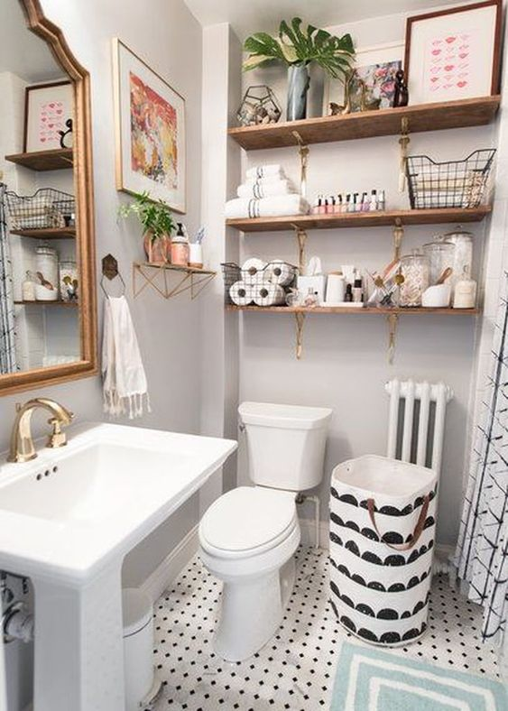 bathroom shelf ideas 9