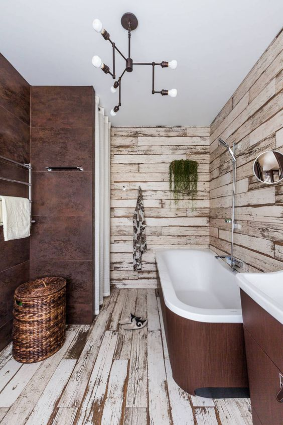 bathroom wood ideas 11