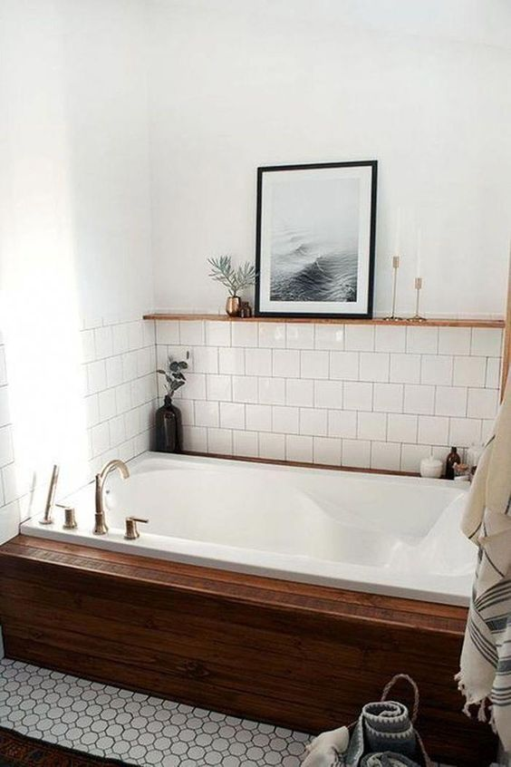 bathroom wood ideas 14