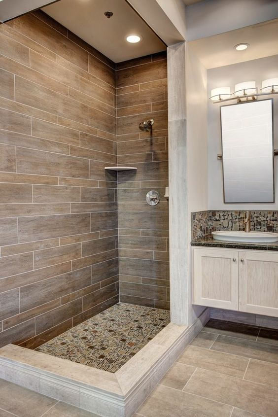 bathroom wood ideas 17