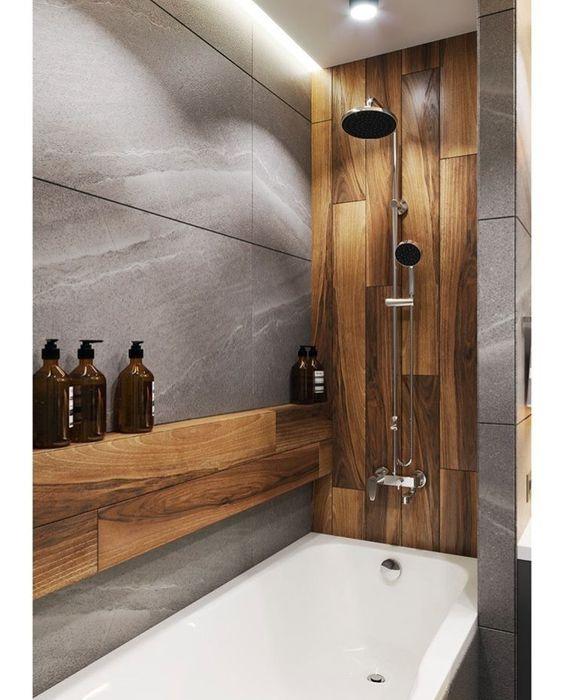 bathroom wood ideas 21