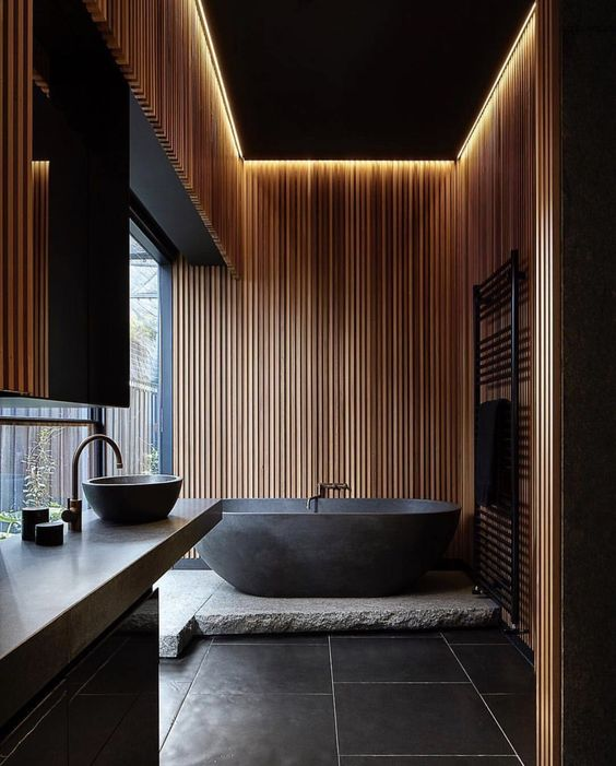 bathroom wood ideas 22