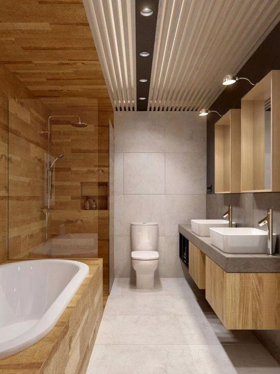bathroom wood ideas 24