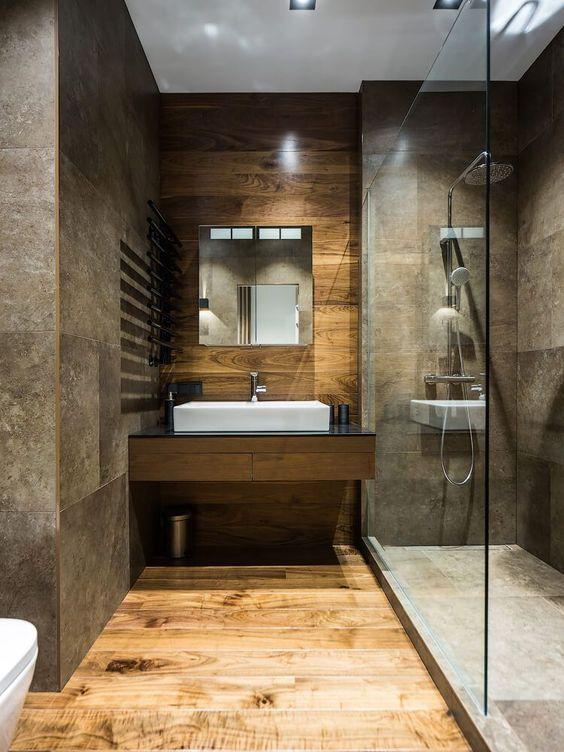 bathroom wood ideas 25