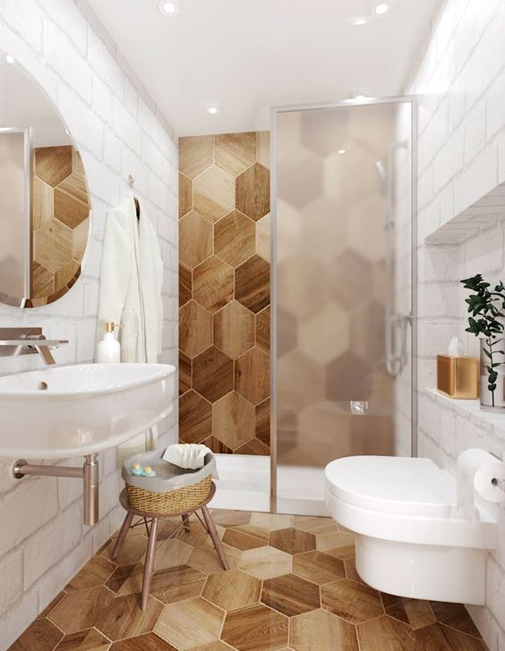 Bathroom Wood Ideas: Distracting? Why Not!