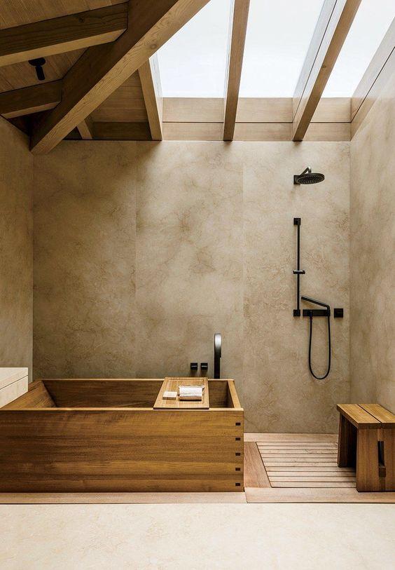 bathroom wood ideas 9