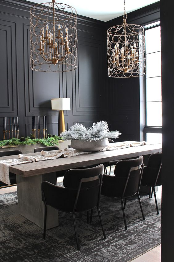 Black Dining Room Ideas: Style It