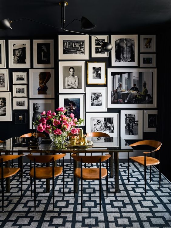 black dining room ideas 15
