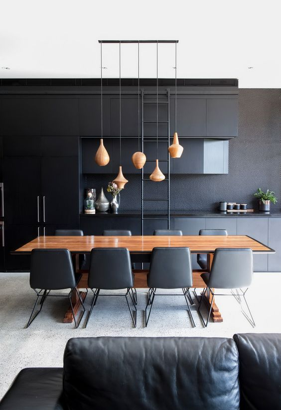 black dining room ideas 18