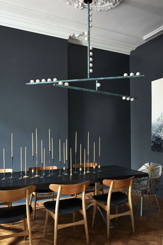 Black Dining Room Ideas: An Eye-Catching Item