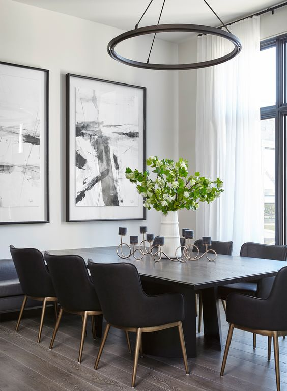 black dining room ideas 7