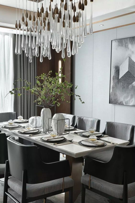 black dining room ideas 8