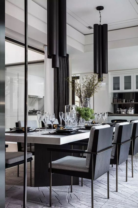 black dining room ideas 9