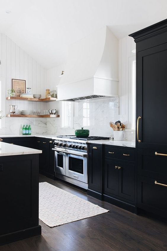 black kitchen ideas 11