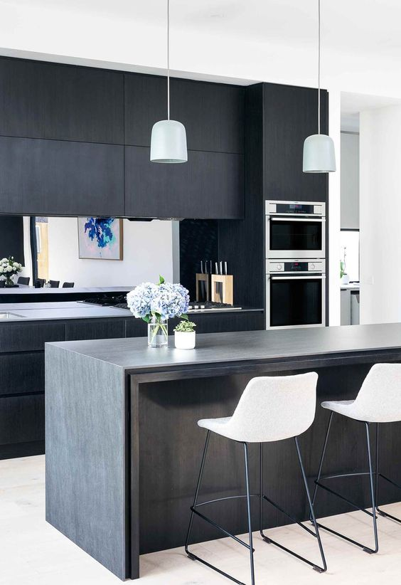 black kitchen ideas 13