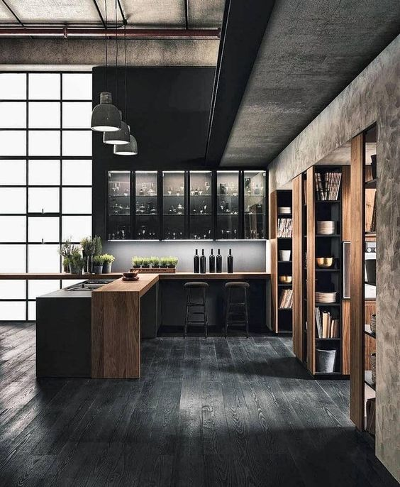 black kitchen ideas 14