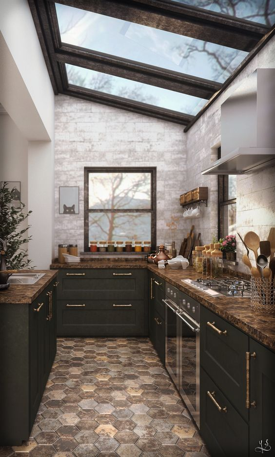 black kitchen ideas 18